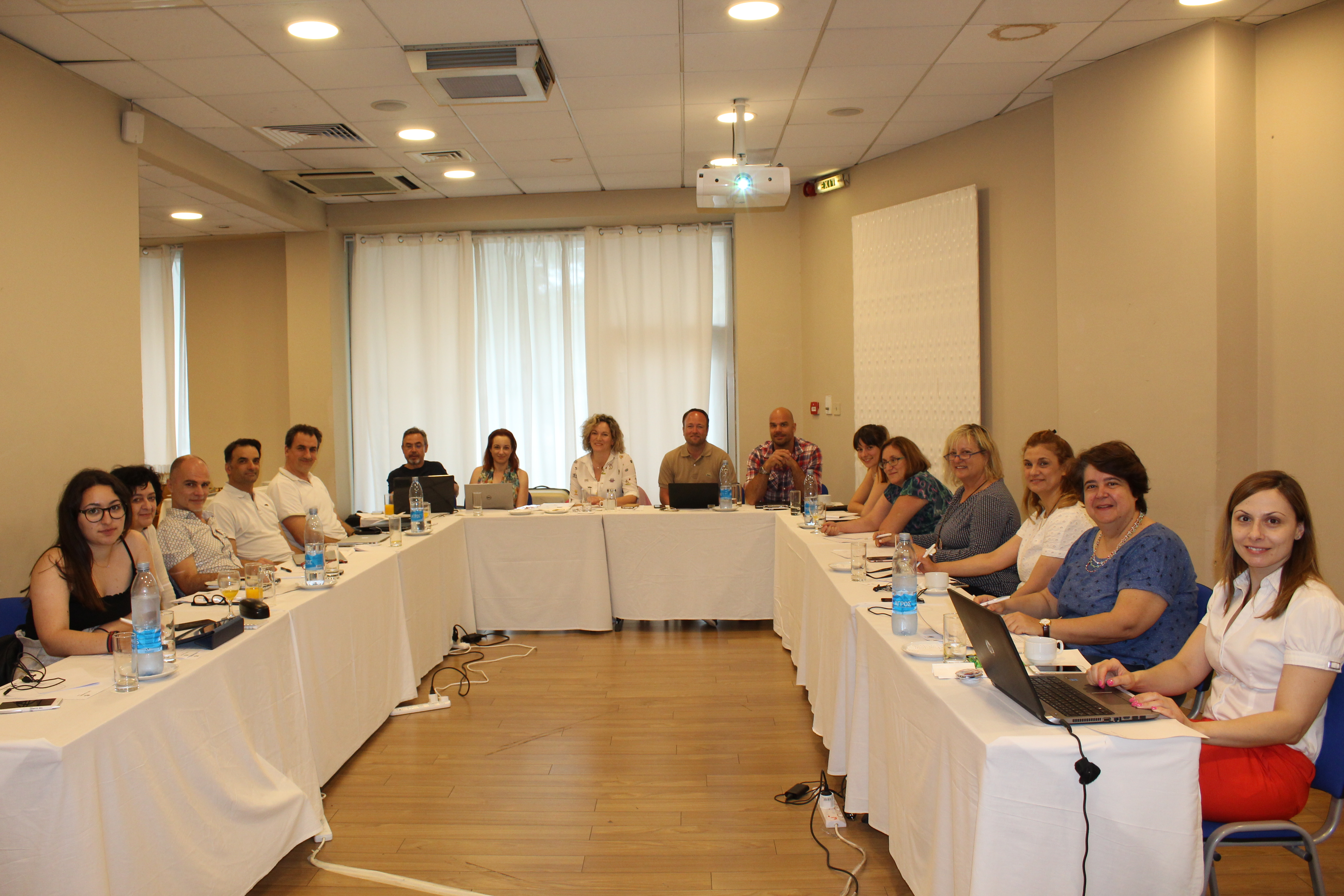 First partner meeting in Crete
